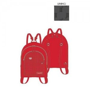 Red Pin Trader Mini-Backpack Loungefly PRE-ORDER