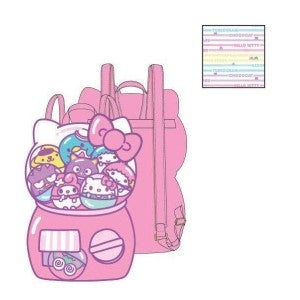 Hello Kitty Kawaii Machine Mini Backpack Loungefly PRE-ORDER delivery in July