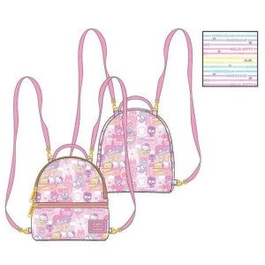 Loungefly Sanrio Hello Kitty Kawaii Convertible Backpack PRE-ORDER delivery in July