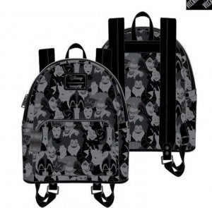 Disney Villains Embossed Mini Backpack or Set Loungefly PRE-ORDER shipping August