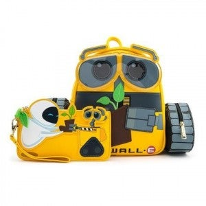 WALL-E Plant Boot  Mini Backpack or Set Loungefly Pre-Order on bag, wallet in stock shipping  early Nov.