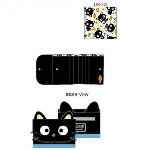 Sanrio Chococat Cosplay Tri-Fold Flap Wallet Loungefly PRE-ORDER Hello Kitty delivery in July