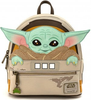 Loungefly THE CHILD Baby Yoda Star Wars Mini Backpack and/or Wallet PRE-ORDER