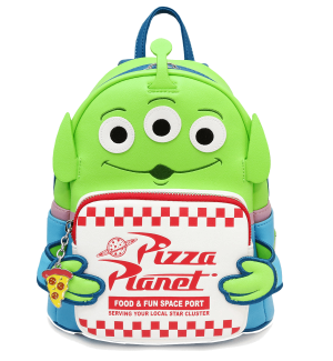 Toy Story Alien Pizza Planet Mini Backpack Loungefly PRE-ORDER for October