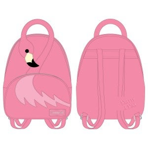 Pool Party Flamingo Mini-Backpack Loungefly PRE-ORDER