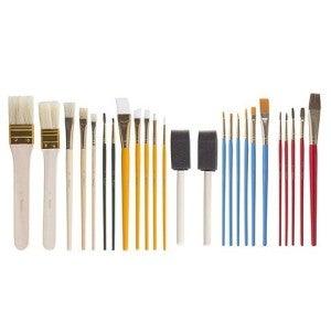 Paint Brush Set, 25 Pieces