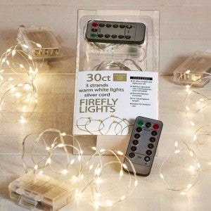 Firefly Lights Battery Operated Value Pack - (3) 30ct Lights Sets