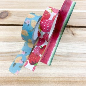 Washi Tape 3pk-  Fruity Fun