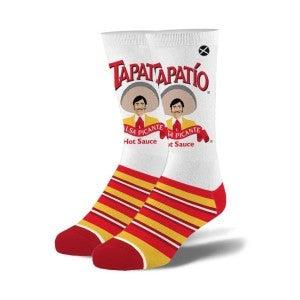 Tapatio Stripped Knit Crew Socks