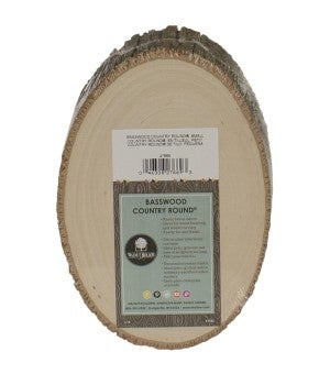 """Walnut Hollow Basswood Country Round 7"""" to 9"""""""