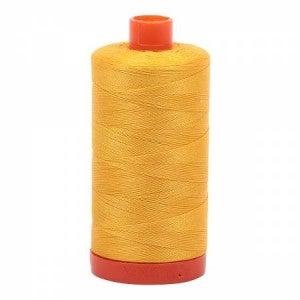Aurifil Thread 50wt Cotton 1422 yard, Yellow