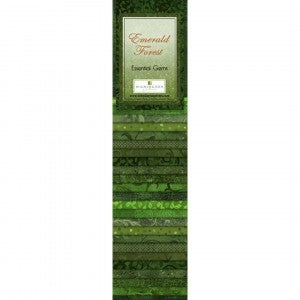 Quilting Strip Packs- Essential Gems, Emerald Forest