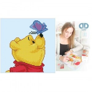 Diamond Dotz Facet Art Kit Intermediate Disney Winnie the Pooh & Butterfly