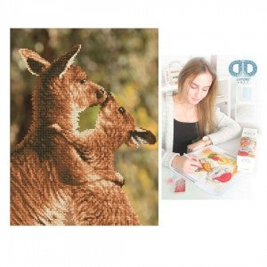 Diamond Dotz Facet Art Kit Intermediate Kissing Kangas