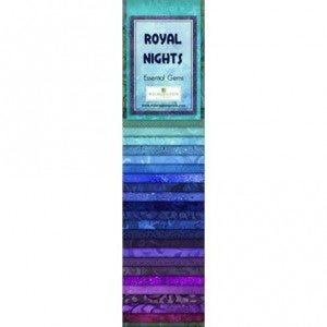 Quilting Strip Packs- Essential Gems, Royal Nights