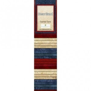 Quilting Strip Packs- Essential Gems, Heartland