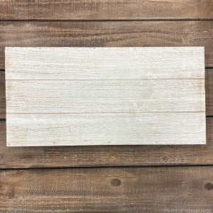 Rectangle Wood Pallet Board 10x20- White