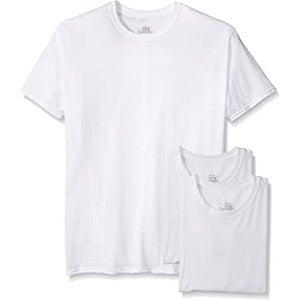 White Cotton Craft T-Shirts