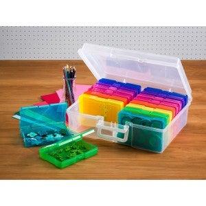 Craft Storage Tote with 16 Mini Bins