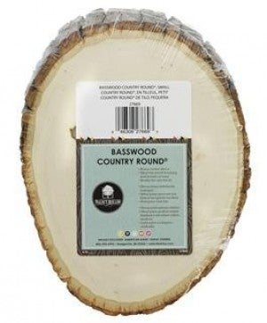 """Walnut Hollow Basswood Country Round 5"""" x 7"""", Small"""