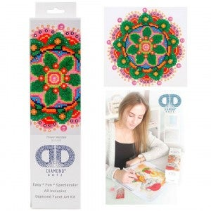 Diamond Dotz Facet Art Kit Beginner Flower Mandala