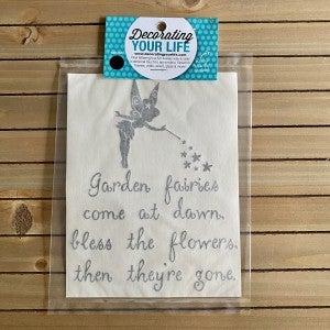 Garden Fairies, Vinyl Black