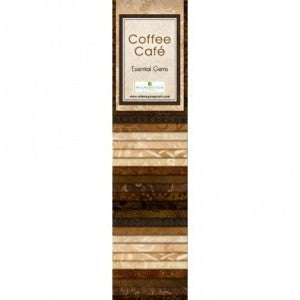 Quilting Strip Packs- Essential Gems, Coffee Cafe