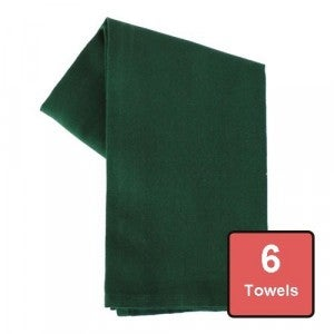 Holy Green Cotton Tea Towels 6pc