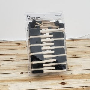 Foam Brush Set: Assorted Sizes, 60 Pack