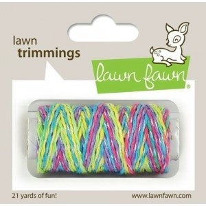 Unicorn Tail Sparkle Cord 21yds, Lawn Fawn