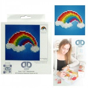 Diamond Dotz Facet Art Kit Beginner Ever Living Rainbow