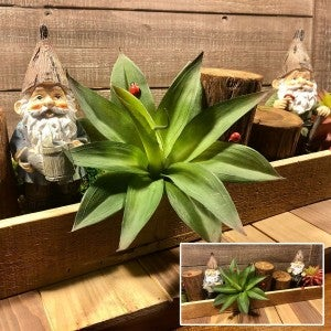 Gnome Mini Garden Table Top Tray