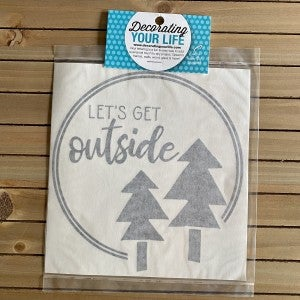 Let's Get Outside with Trees, Vinyl Black