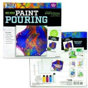 Paint Pouring Mini Maker Kit