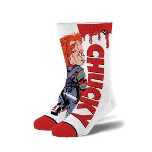 Chucky's Revenge Knit Crew Socks