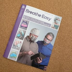 Breathe Easy - 8 Simple Sew and Appliqué Particle Mask and Cap Project