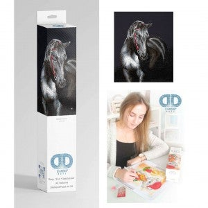 Diamond Dotz Facet Art Kit Intermediate Midnight Stallion