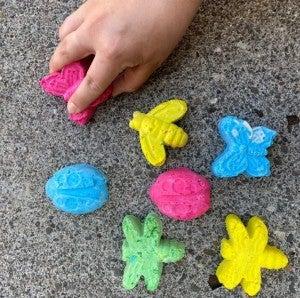 DIY Sidewalk Chalk - Bugs Bundle