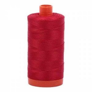 Aurifil  Thread 50wt Cotton 1422 yard, Red