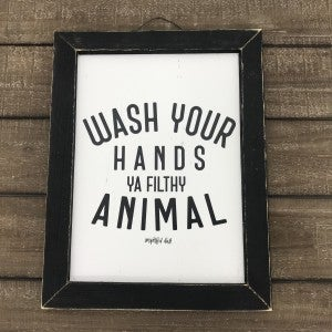 """Wash Your Hands Sign, 17-1/2"""" x 13-1/4"""""""