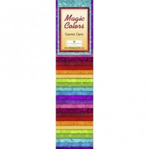 Quilting Strip Packs- Essential Gems, Magic Colors