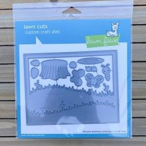 Meadow Backdrop- Landscape Die Cut, Lawn Fawn