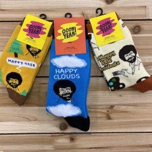 Bob Ross  Sock Attack Gift Set