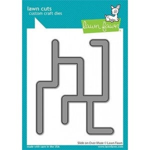 Slide On Over Maze Die Cut, Lawn Fawn