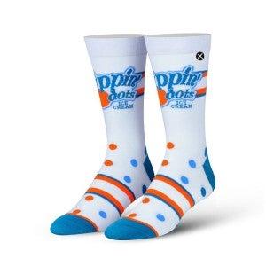 Dippin Dot Knit Crew Socks