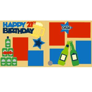 Happy 21st Birthday Boy kit