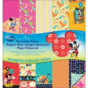 Mickey Family Disney Paper Pack