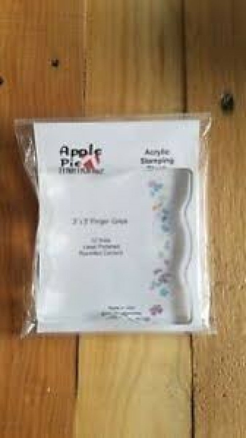 Apple Pie Memories Acrylic Stamping Block with Grips 3x3