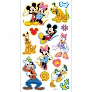 Disney Friends Puffy Stickers