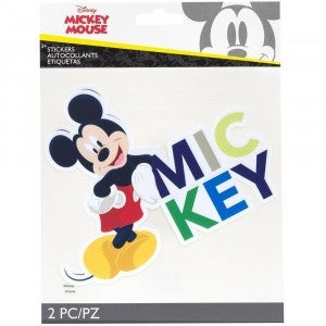 Mickey Mouse Large Flat Sticker